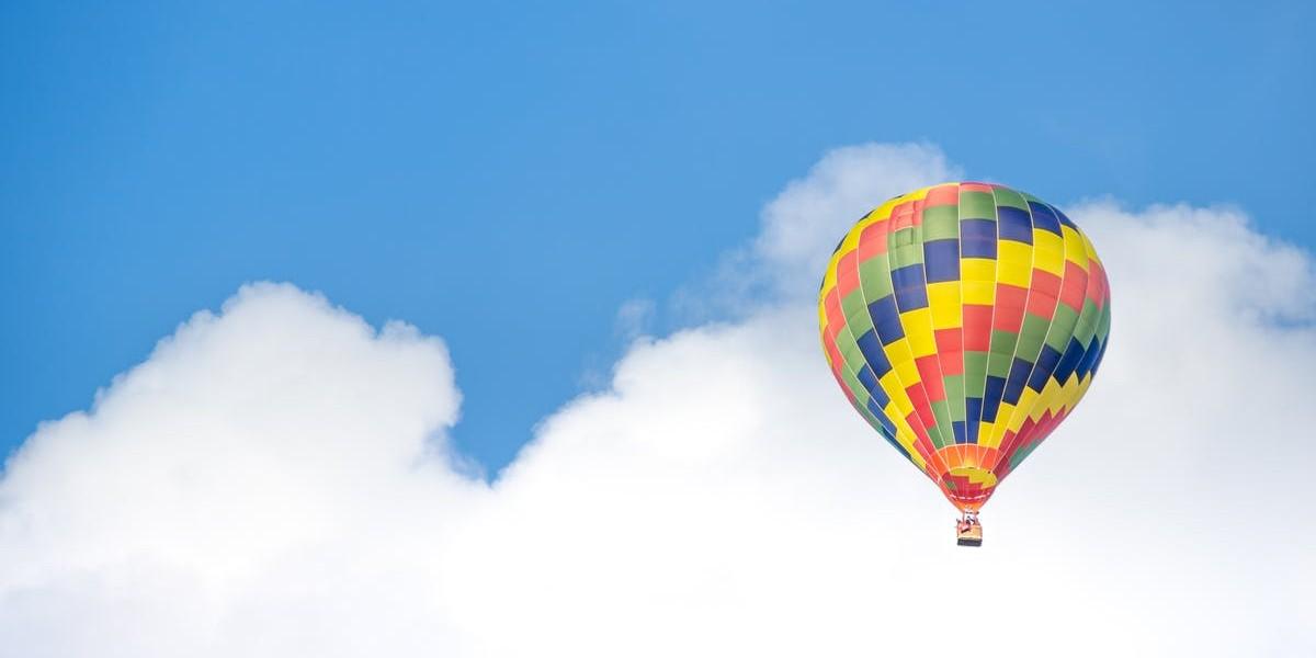 En tur i luftballonen